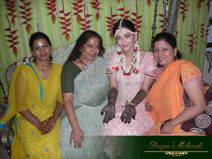 Mehndi Ceremony Of Shilpa Shetty : Aishwarya wedding mehndi pixshark images